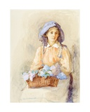 The Lilac Sunbonnet, 1902 Giclee Print by Edith Mary Dorothy Collingwood