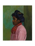 Black Woman with Pink Blouse, 1910 Giclee Print by Félix Vallotton