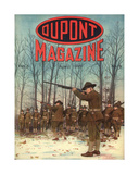 Soldiers, Front Cover of the 'Dupont Magazine', April 1918 Giclee Print by  American School