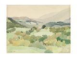 Near Ambleside, 1916 Giclee Print by Adolphe Valette