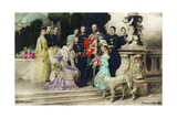 The Silver Anniversary of the Imperial Family, 1906 Giclee Print by Ferdinand Keller