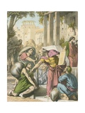 Legality, a Very Judicious Man, That Hath Skill to Help Men Off with Such Burdens Giclee Print by H. Castelli