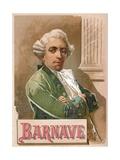 Antoine Barnave Giclee Print by  Spanish School