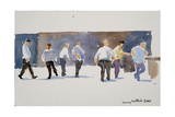 Men at the Phoencia Hotel, 2011 Giclee Print by Lucy Willis