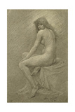 Study for Lilith, c.1900 Giclee Print by Robert Fowler