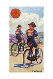 'Cyclist' Scout Badge, 1923 Giclee Print by  English School