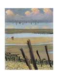 Low Tide at Villerville, 1922 Giclée-Druck von Felix Edouard Vallotton