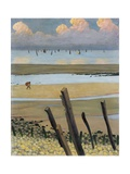 Low Tide at Villerville, 1922 Giclee Print by Félix Vallotton