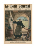 A Bicentenary, Two Hundred Years Ago Precisely, Dom Perignon, a Benedictine Monk of Hautvillers,… Giclee Print by  French School
