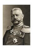 General Field Marshal Von Hindenburg, 1923 Giclee Print by Albert Meyer