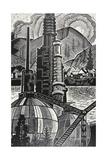 The Ufa Chemical Plant, 1965 Giclee Print by Masabikh Akhunov