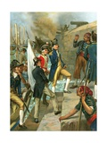 On Hostile Ground. The Landing of Nelson at Copenhagen after the Battle Giclee Print by Thomas Davidson