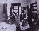Slum Dwelling, New York City c.1905 Photographic Print by Jacob August Riis