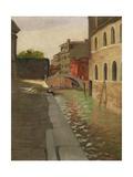 Rio Della Salute, Venice, c.1902 Giclee Print by Felix Edouard Vallotton