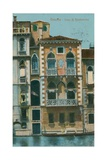 Casa Di Desdemona (Desdemona's House), Venice. Postcard Sent in 1913 Giclee Print by  Italian Photographer