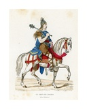 A Chief of the Franks Giclee Print by  French School