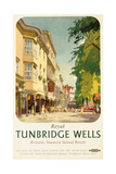 Royal Tunbridge Wells, Poster Advertising British Railways Giclee Print by Frank Sherwin