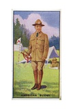 American Scout, 1923 Giclee Print by  English School
