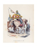 Norman Knight in 1066 Giclee Print by  French School
