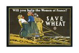 Save Wheat, 1918 Giclee Print by Edward Penfield
