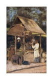 At the Neuilly Fete Giclee Print by Mortimer Ludington Menpes