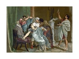 Death of Lucretia Giclee Print by  Spanish School