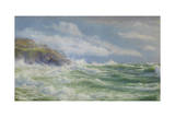 Oceans, Mists and Spray, c.1900 Giclee Print by Walter Shaw