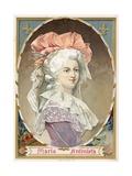 Marie Antoinette Giclee Print by  Spanish School