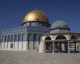 Dome of the Rock and Dome of the Chain, Temple Mount, Jerusalem, Israel, 2009 Photographic Print