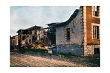 The Destroyed Village of Dombasle-En-Argonne West of Verdun, September 1916 Giclee Print by Jules Gervais-Courtellemont