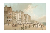 Marine Parade - Brighton Giclee Print by  English School
