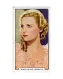 Madeleine Carroll, 1935 Giclee Print