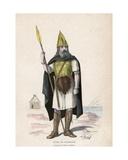 Gallic Warrior Giclee Print by  French School