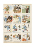 Le Premier Cigare Giclee Print by  French School