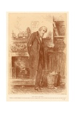 The Family Solicitor Giclee Print by Frederick Barnard