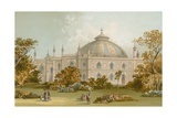 The Dome, Brighton Pavilion Giclee Print by  English School