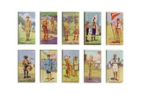 Scouts from around the World, 1923 Giclee Print by  English School