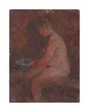 In the Banya, 1941 Giclee Print by Konstantin Lekomtsev