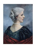 Marie Henriette, Queen of the Belgians Giclee Print by  English Photographer