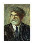 Self-Portrait; Autorretrato, 1925 Giclee Print by Pedro Figari