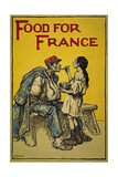 Food for France, 1918 Giclee Print by Francis Luis Mora