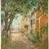 Street in Provincetown, 1904 Giclee Print by Childe Hassam