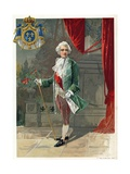 King Louis XV of France Giclee Print by  Spanish School