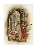 The Pied Piper of Hamelin Giclee Print by Harry and Arthur Charles Payne