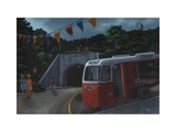 Little Red and the Tunnel of Love, 2010 Giclee Print by Christopher Noulton