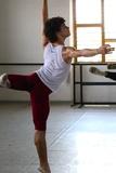 Dancer in Class, Havana, Cuba Photographic Print