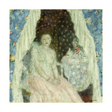Study for 'Blue Curtains', c.1924 Giclee Print by Frederick Carl Frieseke