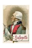 Gilbert Du Motier, Marquis de Lafayette Giclee Print by  Spanish School
