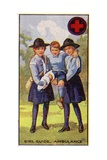 Girl Guide Ambulance Badge, 1923 Giclee Print by  English School