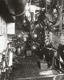Interior of Forward Compartment of U-Boat 135 Showing Torpedo and Four Torpedo Tubes Photographic Print by  English Photographer